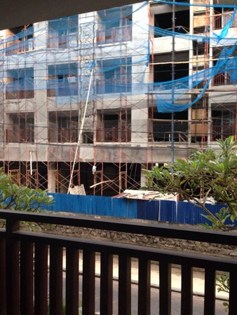 Sing Ken Ken Lifestyle Boutique Hotel : Вид с балкона