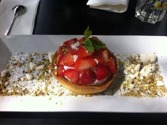 Fuxia: Tartelette fraises mascarpone extra !