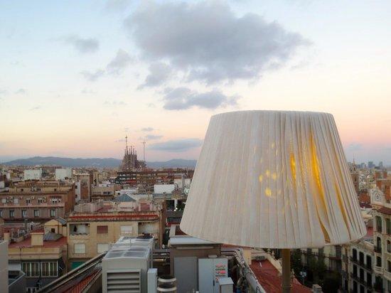 Majestic Hotel & Spa Barcelona: Abat-jour sur la ville