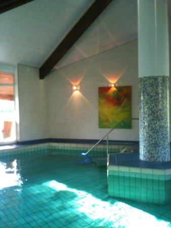 Zum Ochsen : La piscine avec vue sur le golf