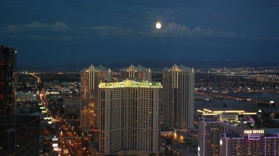 ARIA Resort & Casino: Vista dalla camera