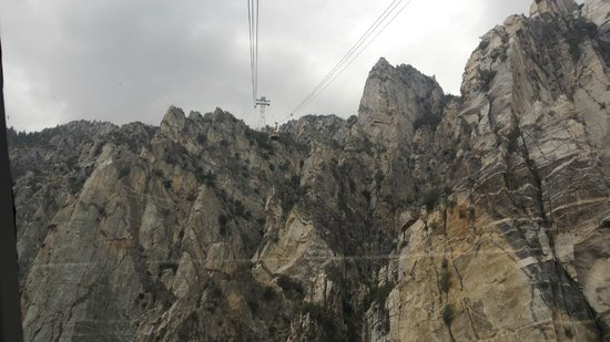 Palm Springs Aerial Tramway: Nearly there