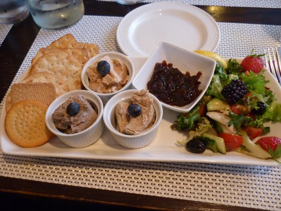 The Craster Seafood Restaurant: Fish Pate 'Starter'