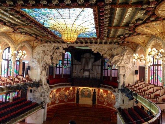 Palais de la Musique Catalane (Palau de la Musica Catalana) : 素敵