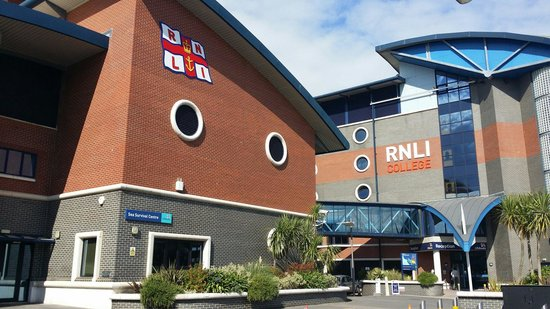 RNLI College: View from outside