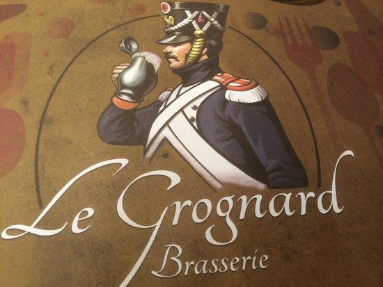 Le Grognard : placemat