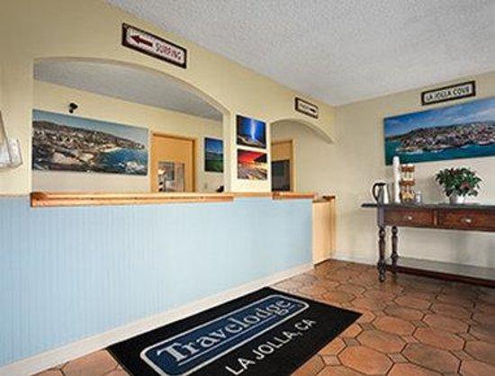 La Jolla Beach Travelodge : Lobby