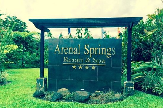 Arenal Springs Resort and Spa: Entrance