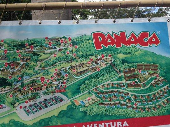 Panaca: mapa