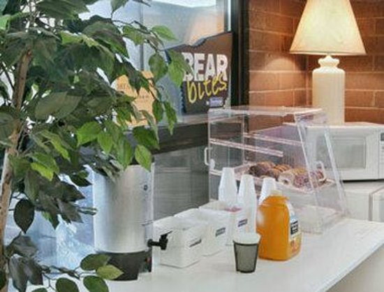 Cedar City Travelodge: Breakfast Area