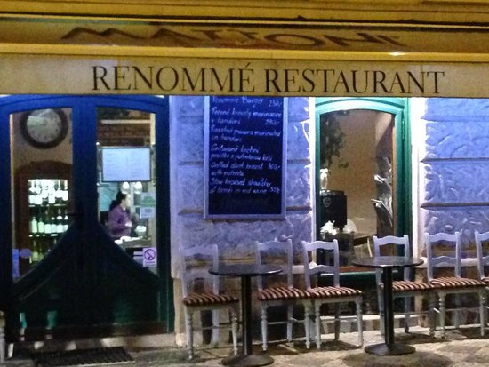 Front of Renomme