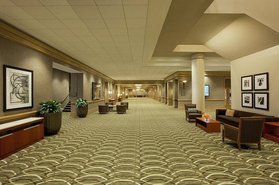 The Westin Indianapolis: Capitol Ballroom Prefunction Space