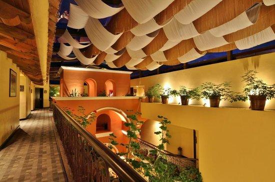 Casa del Alma Hotel Boutique & Spa : Interior de noche