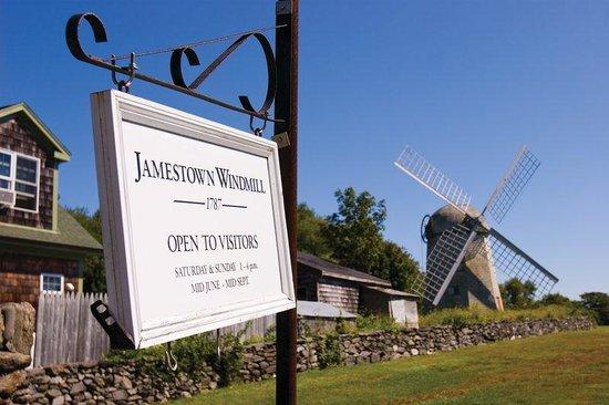 Wyndham Bay Voyage Inn: Jamestown Windmill
