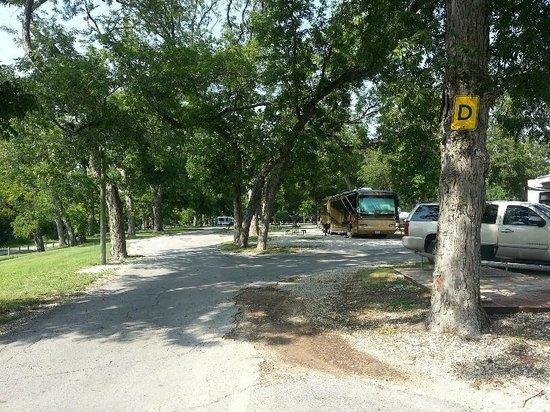 San Antonio KOA Campground: RV campsite