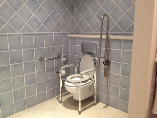 Princesa Yaiza Suite Hotel Resort: Toilet with raised seat (additional cost) in adapted room C510