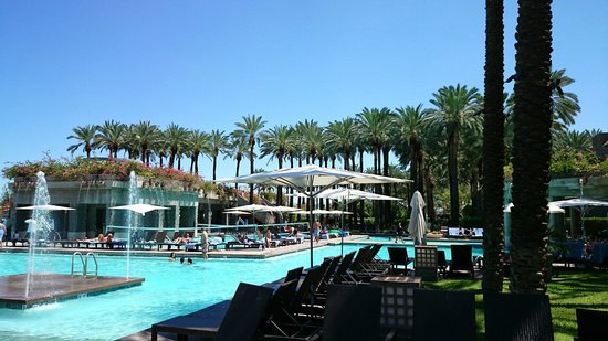 Hyatt Regency Scottsdale Resort and Spa at Gainey Ranch: Swimming pool area!