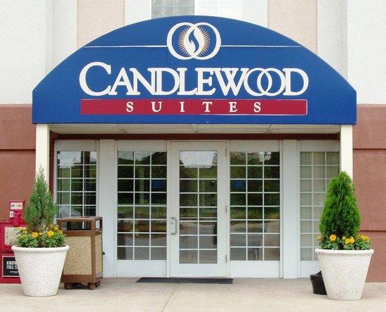 Candlewood Suites Austin-Round Rock : Entrance
