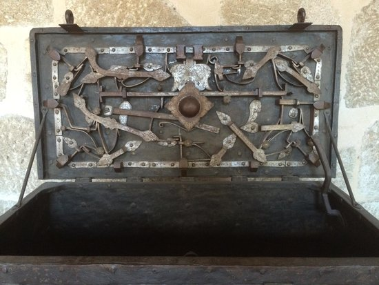 Musée d'Unterlinden : chest detail