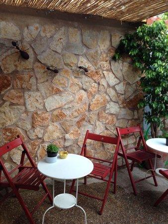 Es Raco de Ronda: patio interior