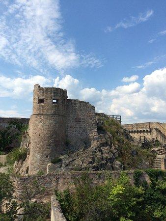 Château du Hohlandsbourg : rampart view