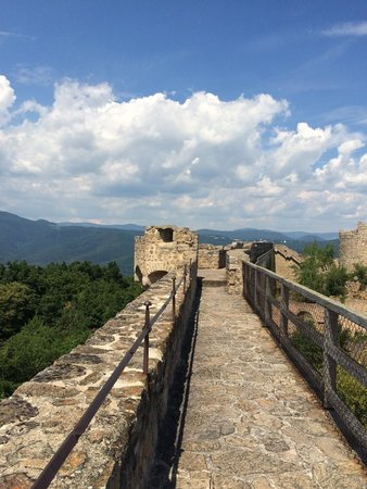 Château du Hohlandsbourg : another rampart view