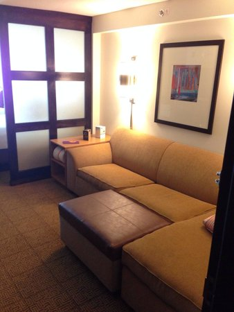 Hyatt Place Long Island East End : Sofa