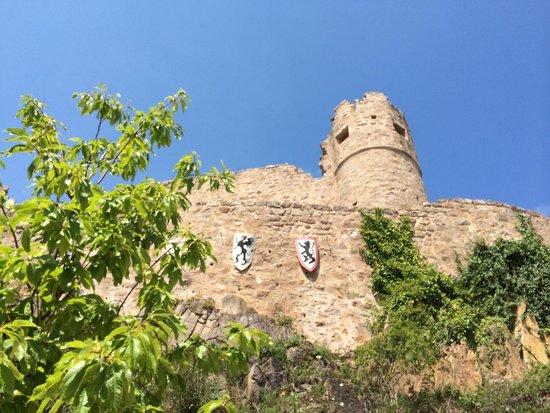 Château du Hohlandsbourg : exterior view