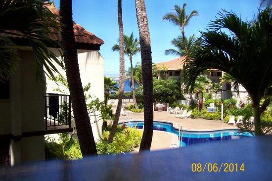 Maui Beach Vacation Club: View from C-206