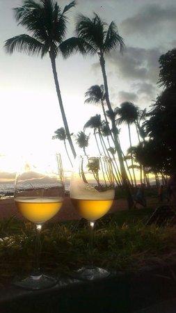 Sarento's on the Beach - Maui: Sunset from Sarento's