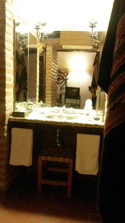 posada La Soñada: Lavatorio independiente