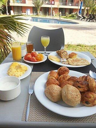Hotel Rawabi Marrakech & Spa : Petit déjeuner