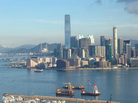Metropark Hotel Causeway Bay Hong Kong: View from the Rooftop Pool