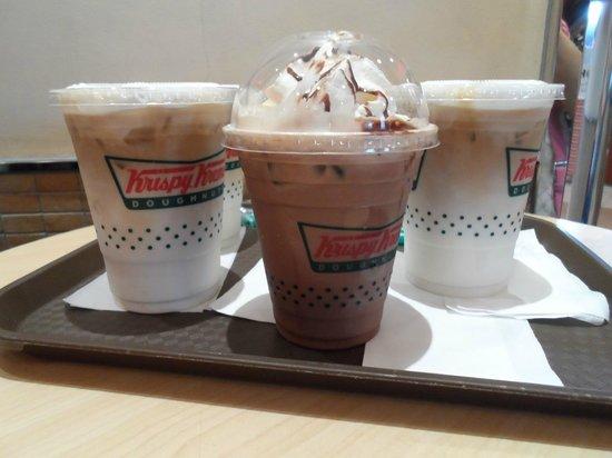 Krispy Kreme Doughnuts: drinks