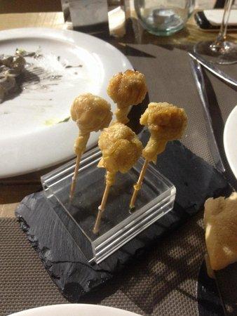 Reino de León: Chupa chups de queso chedar