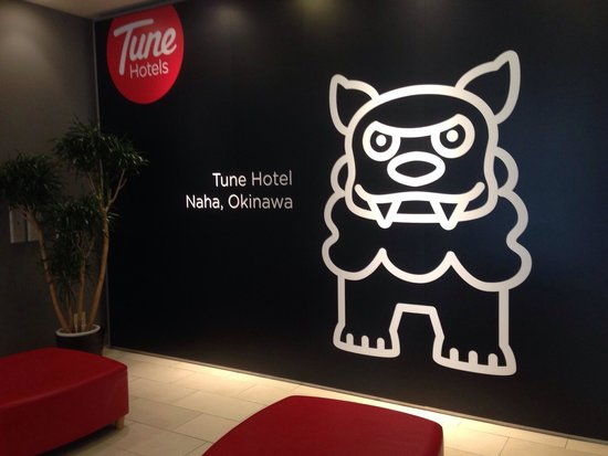 Red Planet Hotel Naha Okinawa : The hall