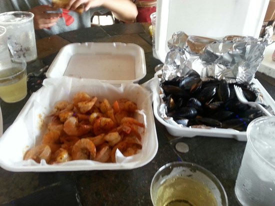 Homosassa, FL: Best Shrimp and mussels