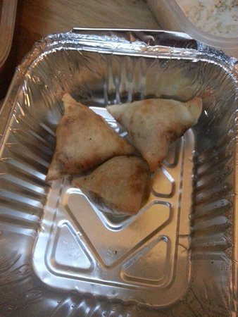 Mint And Mustard: Duck Samosa - Terrible value and really dry