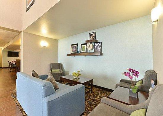 Comfort Inn & Suites Calgary Airport : lobby
