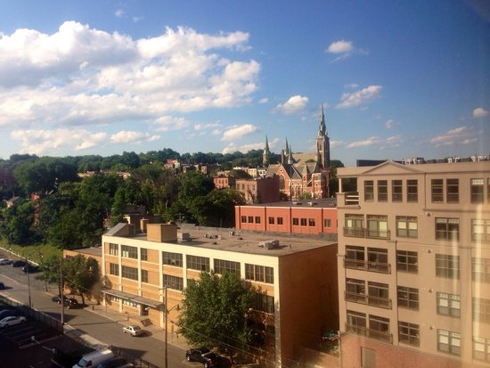 Hampton Inn & Suites Albany - Downtown: View from our 9th floor room.