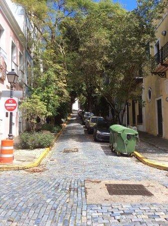 Old San Juan : streets of san juan
