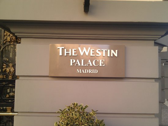 The Westin Palace Madrid: Entrance