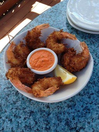 Amara Cay Resort: 6 huge shrimp