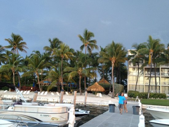 Amara Cay Resort: View from the boat dock