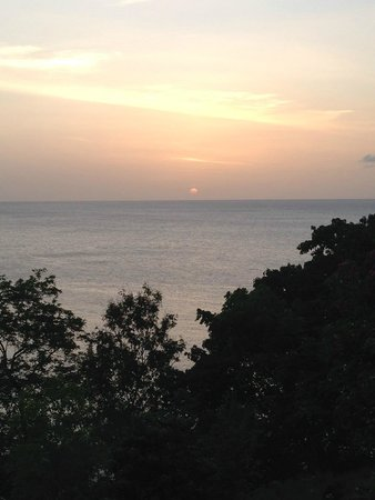 Ti Kaye Resort & Spa : our view of the sunset