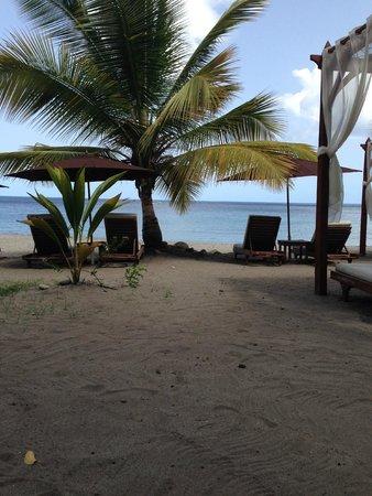 Ti Kaye Resort & Spa : the beach