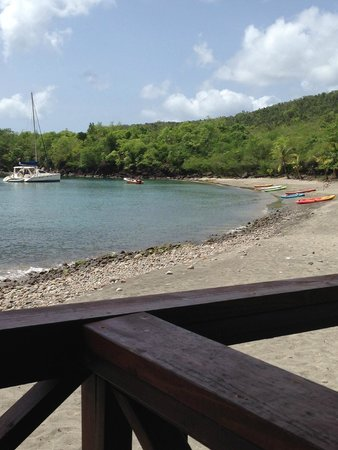 Ti Kaye Resort & Spa : the resort beach