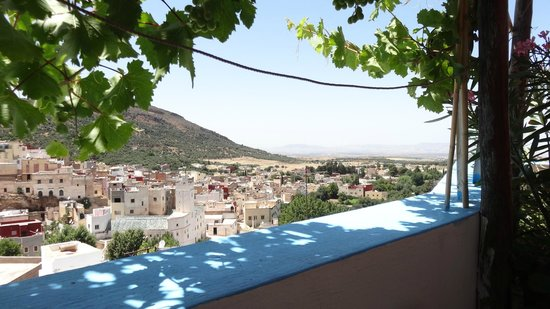 Dar KamalChaoui : View from the roof terrace-breakfast was served up here