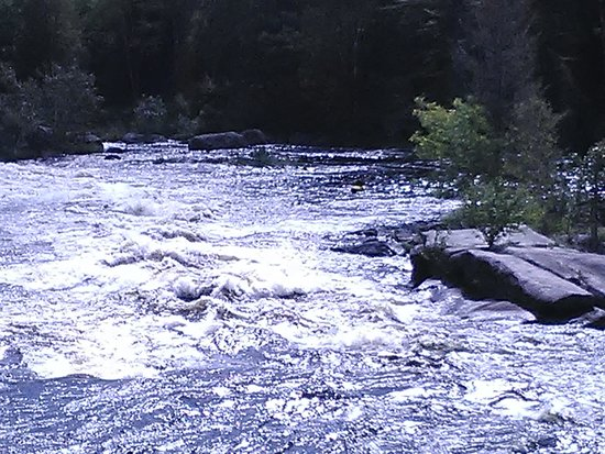 White Water Rafting NEOC: Go see it breathtaking views