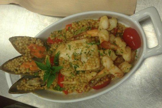Bha! Bha! Bistro: Seafood Couscous....